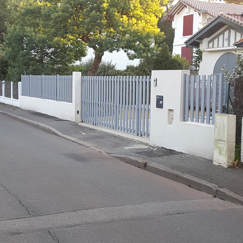 Rehausser Une Cloture Grillagée mur de clôture - eurl lamballe patrice